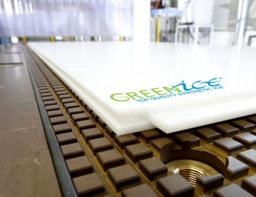 Artificial Ice Tiles Panel Sheet Production